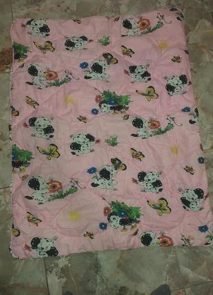 Детское одеяло, ковдра 110×140