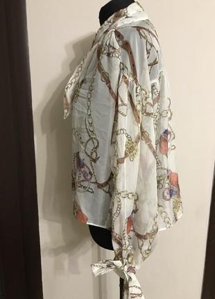 Супер блуза в стиле версачи