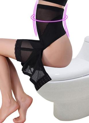 Утягивающие трусики с высокой талией, трусы с утяжкой, корректирующие панталоны