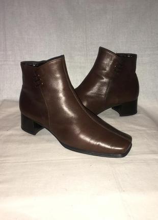 Ботинки *gabor* кожа германия р.39 ( 25.50 см)
