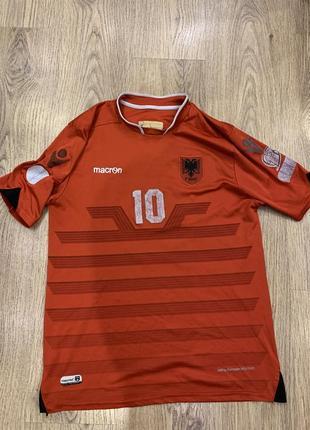 Футбольная футболка албания