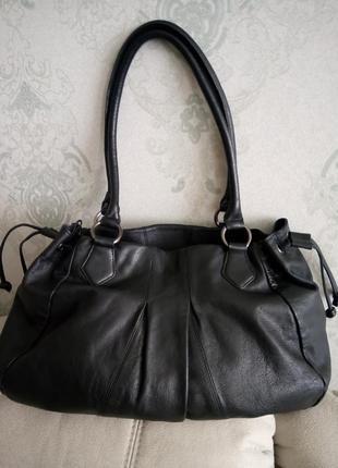 Шикарная большая кожаная сумка vivala diva2