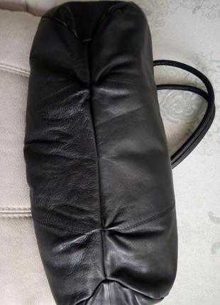Шикарная большая кожаная сумка vivala diva3