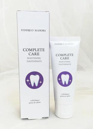 Зубна паста «відбілююча» complete care