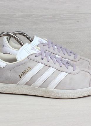 Замшевые кроссовки adidas gazelle оригинал, размер 36.5