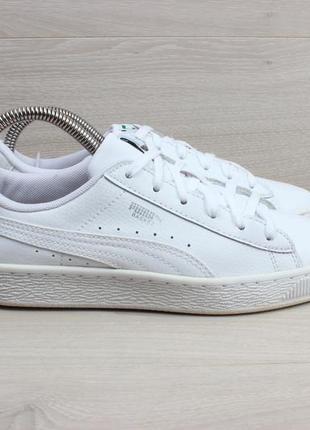 Белые кроссовки puma оригинал, размер 38