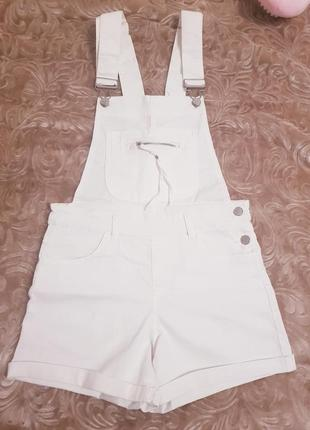 Комбез-шорти джинсовий