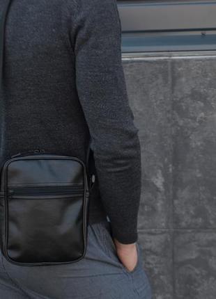 Кожаный мужской стильный месенджер мессенджер сумка сумочка