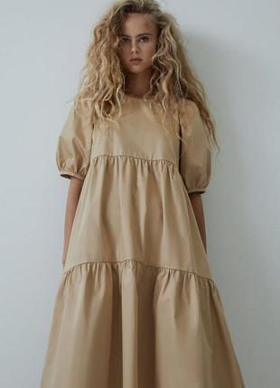 Сукня котонова,  плаття літнє хб, плаття оверсайз