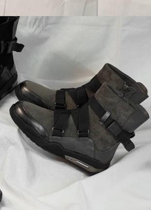 Теплые ботинки ❄️ зима на меху спортивные зимние