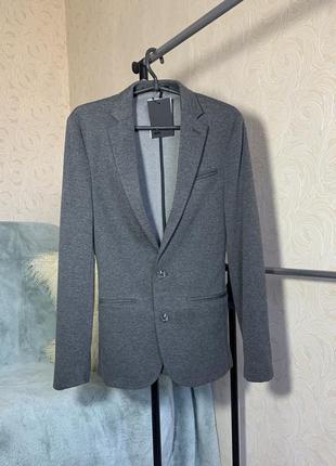 Женский пиджак, жакет,серый блейзер, asos