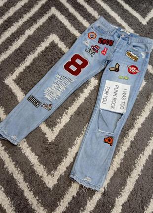 Крутые джинсы tally weijl 💣💣💣