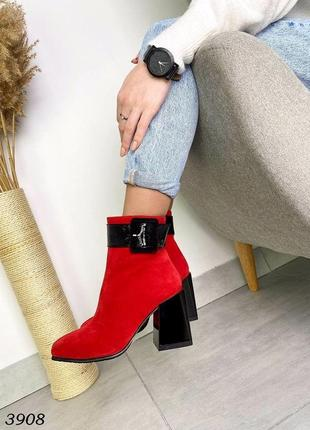 Шикарні червоні черевики