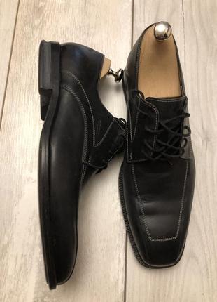Мужские кожаные туфли geox (43р.)