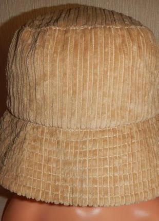 Трендовая шляпа панама теплая tcm p.56-58см