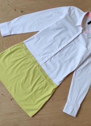 Стильное  платье рубашка прямого кроя   vero moda
