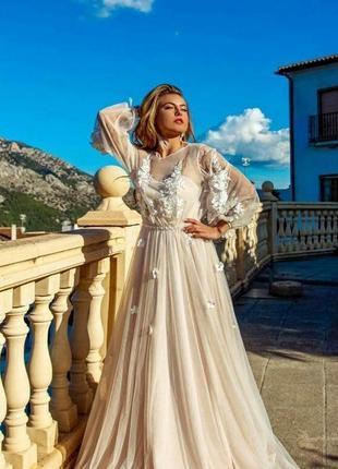 Свадебное платье мармелата