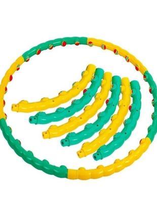 """Хулахуп, обруч массажный hula hoop """"таня"""" оригинал color ball"""