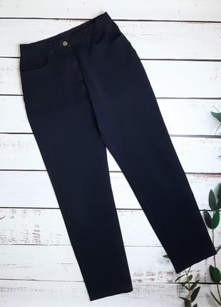 1+1=3 идеальные зауженные узкие мом mom джинсы высокая посадка, размер 46 - 48