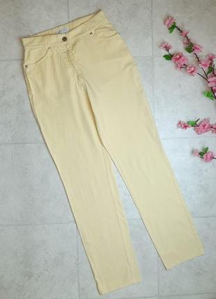 1+1=3 фирменные желтые мом mom джинсы высокая посадка, размер 46 - 48