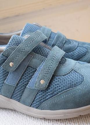 Замшевые туфли мокасины слипоны pavers р.41 27,5 см