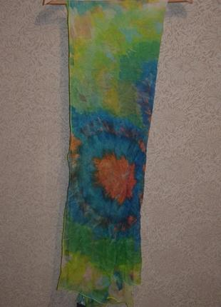 Шелковый шарф fraas