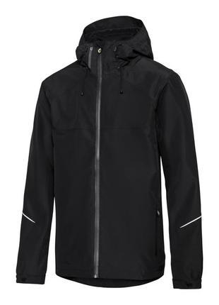 Всесезонная куртка crivit с проклеенными швами, карманами на молнии, водонепроницаемая