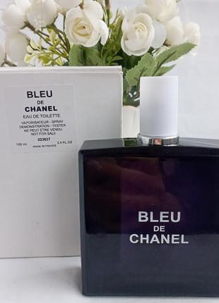 Chanel blue de chanel парфюмированная вода для мужчин тестер духи мужские