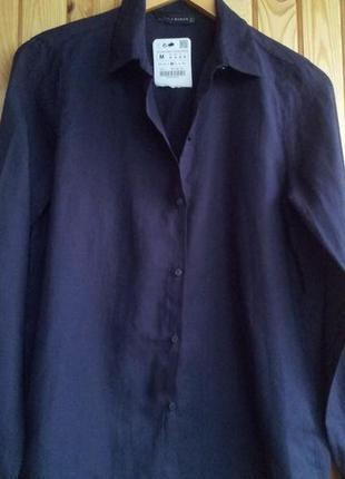 Повседневная блуза свободного кроя  zara
