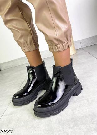 Стильные женские демисезонные ботинки.