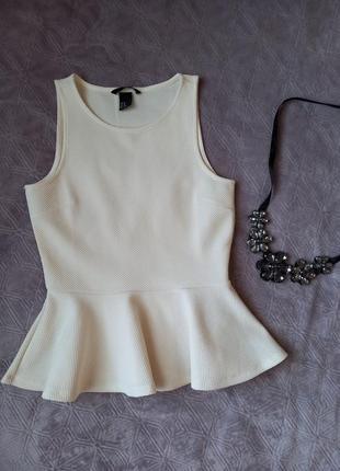 Блуза с баской фирмы hm