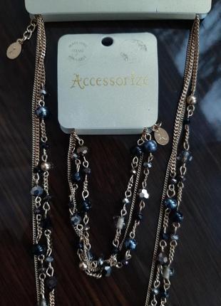 Новый комплект ожерелье и браслет  от  monsoon accessorize
