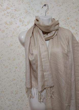 Шикарный шарф платок,шелк кашемир
