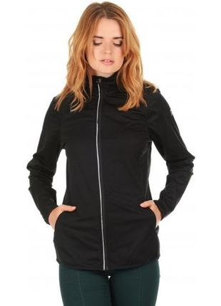 Функциональная женская беговая куртка софтшелл crivit pro м