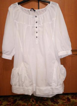 Суперское платье туника хлопок