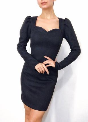 Платье, платье с рукавом «фонарики»