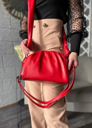 Женская сумка эко-кожа magicbag красная