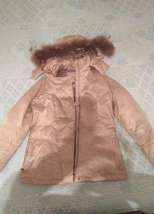 Крутая куртка- пуховик geox