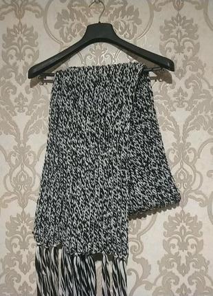 Вязаный шарф h&m