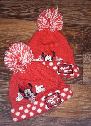 Disney minnie mouse шапки шапочки двойня