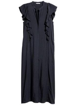 Очень стильное жаккардовое платье рубашка