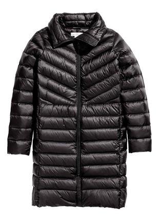 Куртка пальто пуховик от h&m пух/перо