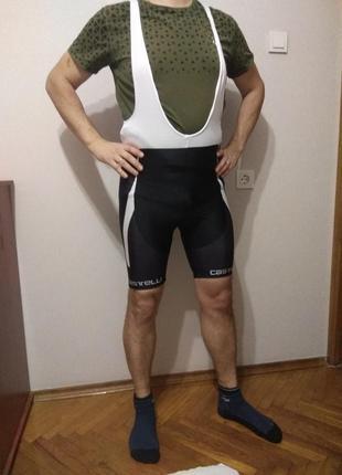 Вело трико/велосипедки с лямками,вело тріко,вело одежда