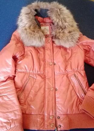 Стильная куртка,пуховик bershka