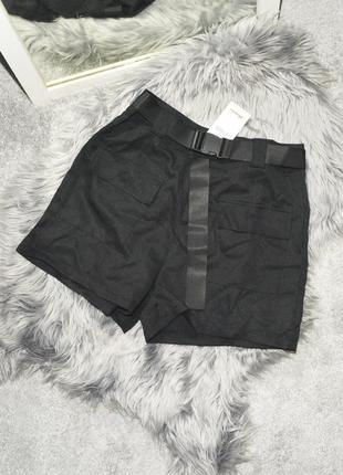 Новые шорты с поясом и карманами denim co
