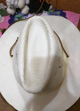 Шляпа светлая stetson ковбойская нюанс