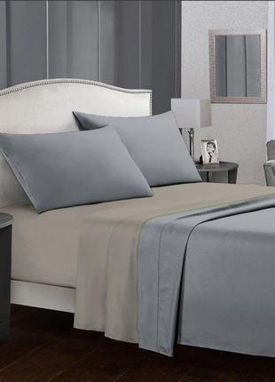 Комплект постельного белья из сатина time textile rock евро