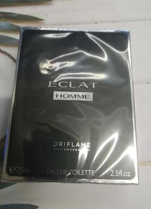 Туалетна вода eclat homme oriflame,