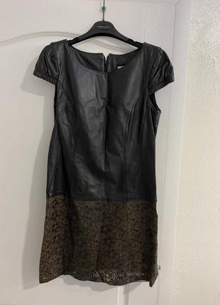 Шкіряна сукня, кожанное платье