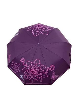 Шикарный фиолетовый 💜 зонт ☂️